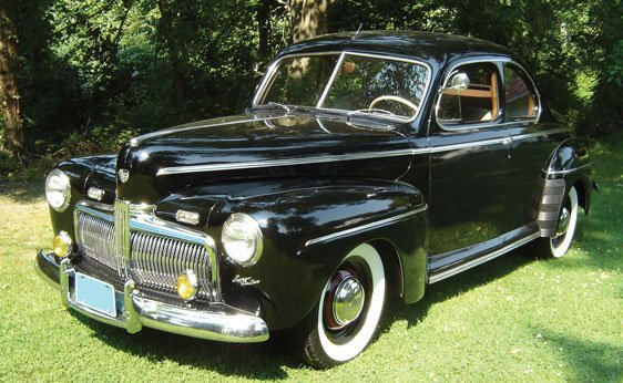 204: 1942 Ford Super Deluxe Coupe