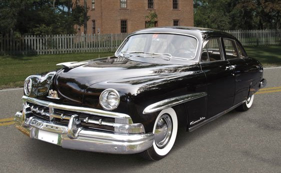205: 1950 Lincoln Cosmopolitan Four-Door Sport Sedan