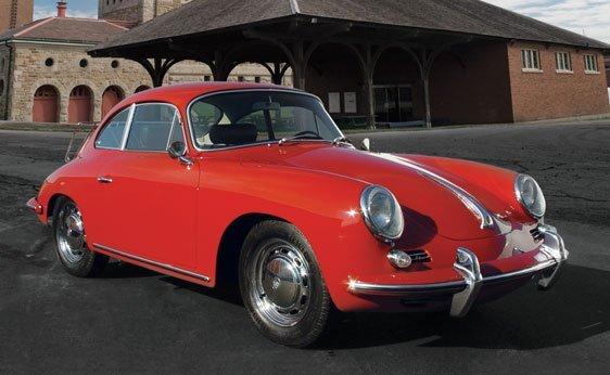 206: 1964 Porsche 356 C Coupe