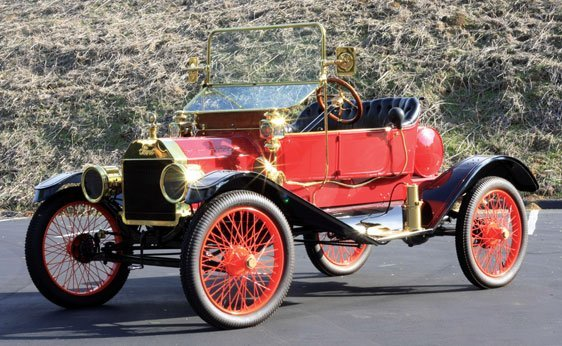 207: 1911 Ford Model T Torpedo Runabout