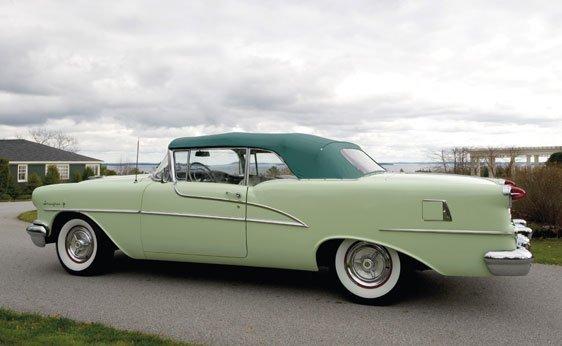 212: 1955 Oldsmobile 98 Starfire Convertible