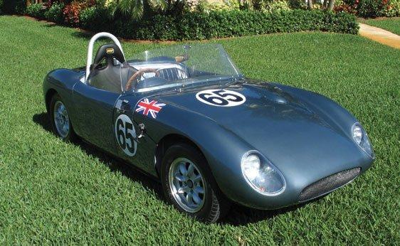 "213: 1961 Austin-Healey ""Sebring Sprite"" Lightweight Wo"