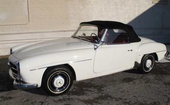 215: 1961 Mercedes-Benz 190SL Roadster