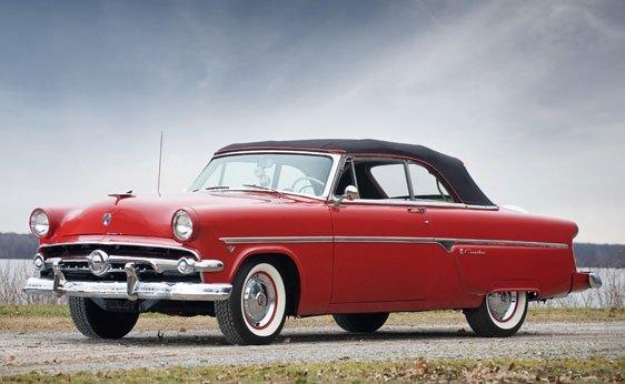 222: 1954 Ford Crestline Sunliner Convertible