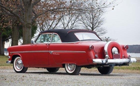 222: 1954 Ford Crestline Sunliner Convertible - 2