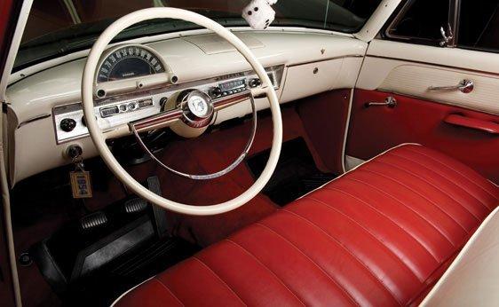 222: 1954 Ford Crestline Sunliner Convertible - 3