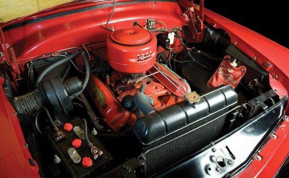 222: 1954 Ford Crestline Sunliner Convertible - 4
