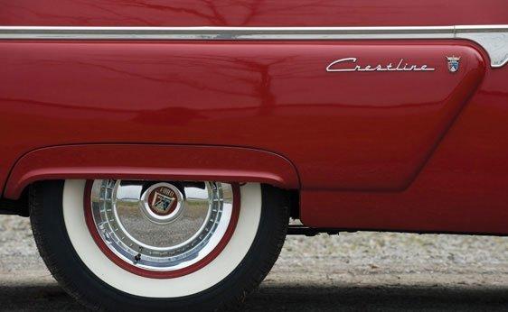 222: 1954 Ford Crestline Sunliner Convertible - 5