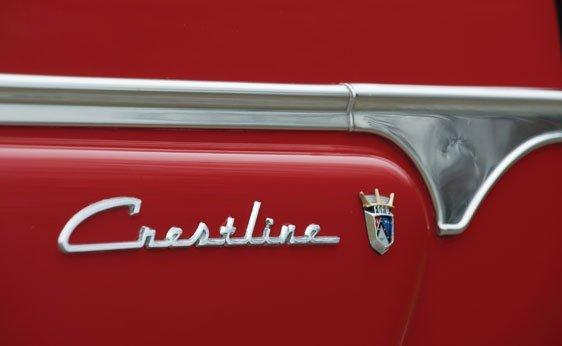 222: 1954 Ford Crestline Sunliner Convertible - 6