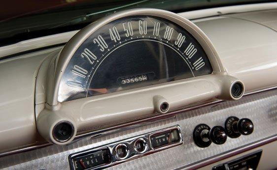 222: 1954 Ford Crestline Sunliner Convertible - 8