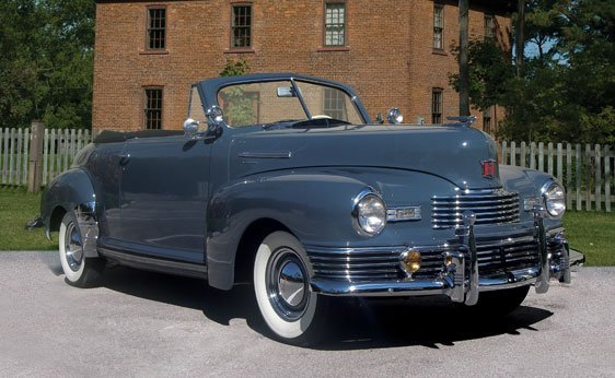 233: 1948 Nash Ambassador Custom Convertible