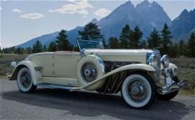 247: 1930 Duesenberg Model J Convertible Coupe