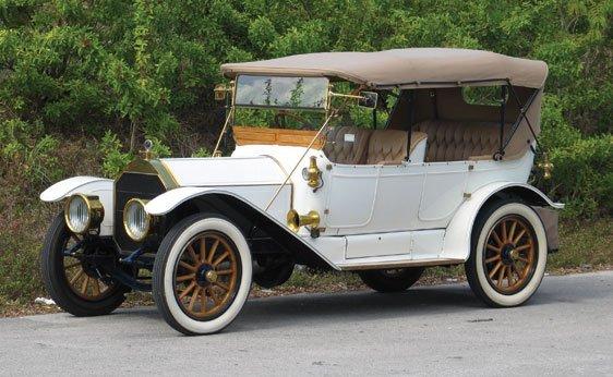 250: 1912 Pierce-Arrow Model 66-QQ 5-Passenger Touring