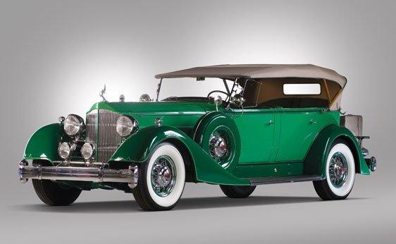 251: 1934 Packard Twelve 5-Passenger Phaeton