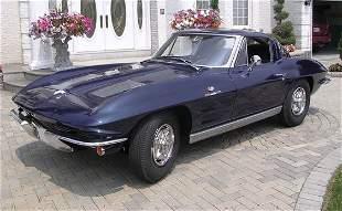 287: 1963 Chevrolet Corvette Z06 Sport Coupe