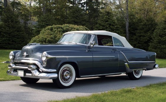 289: 1953 Oldsmobile 98 Convertible