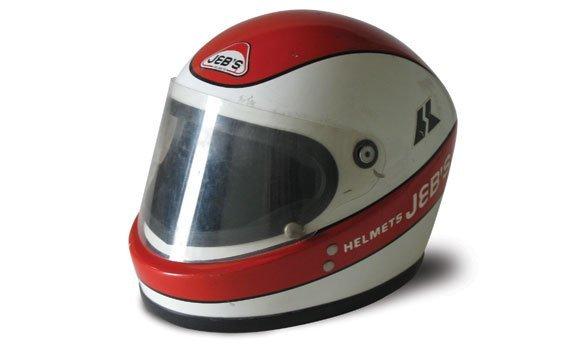 120: CLAY REGAZZONI RACE HELMET; 1970s