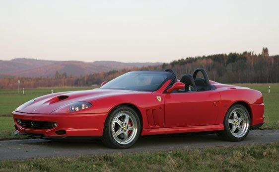 205: 2001 Ferrari 550 Barchetta Pininfarina
