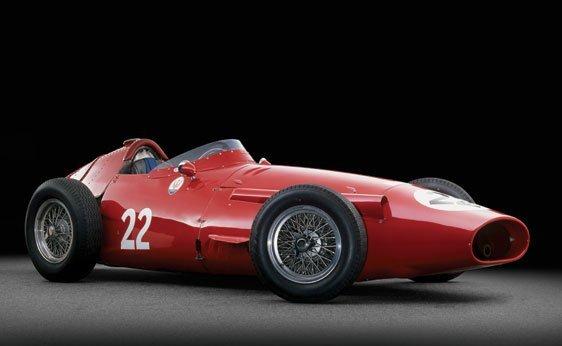 215: 1956 Maserati 250F Grand Prix Car