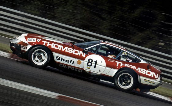 221: 1973 Ferrari 365 GTB 4 Daytona Competizione GR.IV