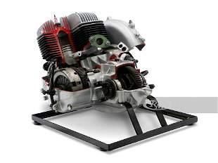 Goggomobil Cutaway Display Engine