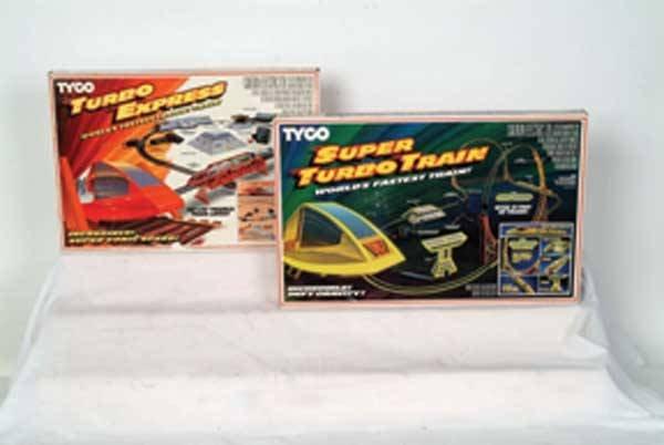 0001: Tyco Train Sets Turbo Express set, Super Turb