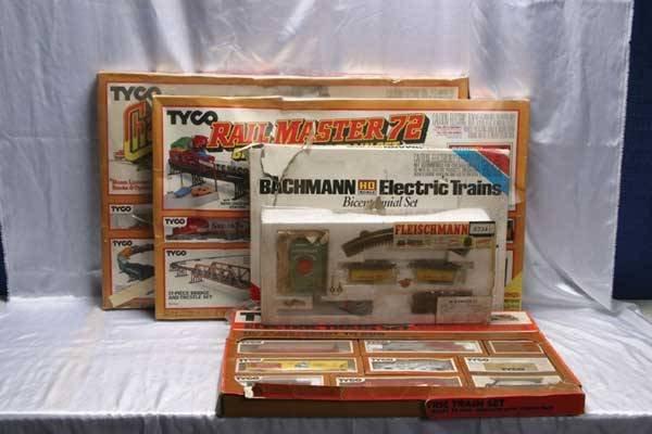 0002: Tyco/Bachmann/Fleischmann Train Sets HO Start