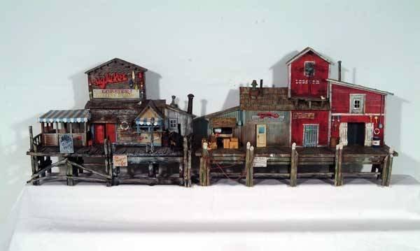 0010: R L Coy Accessories (2) wooden wall wharf dio