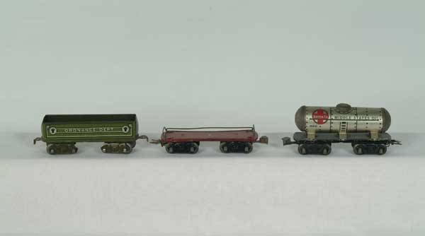 0024: Marx Freight Cars 553 ATSF/Middle States Oil