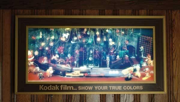 """0030A: Kodak Sign """"Kodak Film…Show Your True Colors"""""""