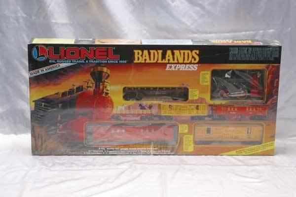 0206: Lionel Train Set 11714 Badlands Express passenger