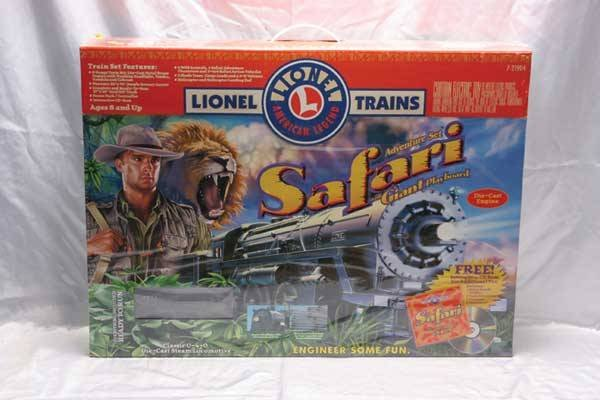 0208: Lionel Train Set 21904 Safari Adventure freight s