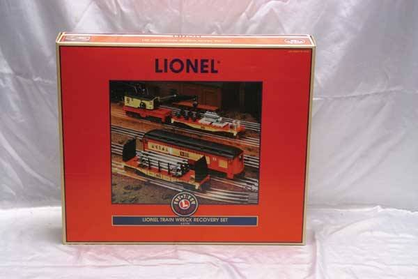 0804: Lionel Freight Cars 21775 Lionel Train Wreck Reco