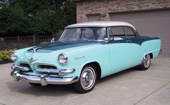 202: 1955 Dodge Coronet Lancer Hardtop