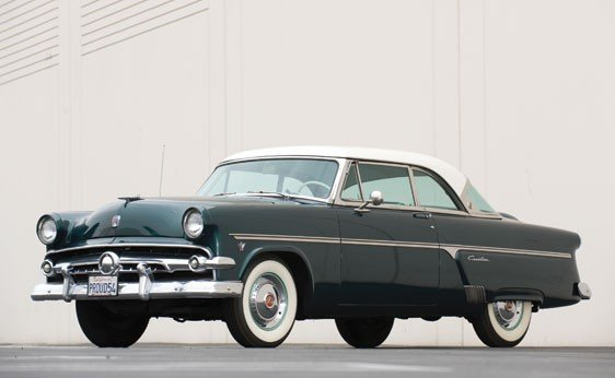 204: 1954 Ford Crestline Victoria Hardtop
