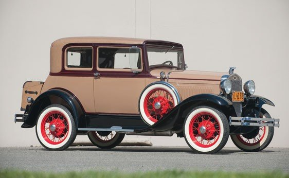 205: 1931 Ford Model A Victoria Coupe