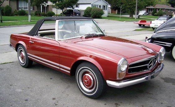 206: 1967 Mercedes-Benz 230 SL Roadster