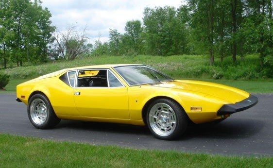 210: 1974 De Tomaso Pantera
