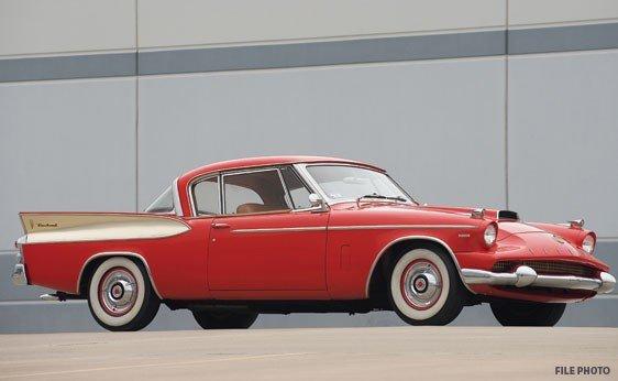 216: 1958 Packard Hawk Sport Coupe
