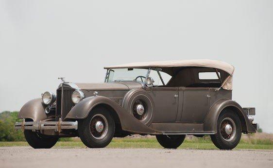 217: 1934 Packard Eight Phaeton