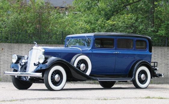 218: 1933 Pierce-Arrow Formal Limousine
