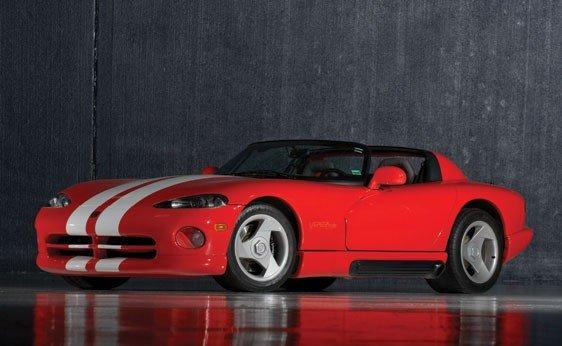 219: 1993 Dodge Viper RT/10 Roadster