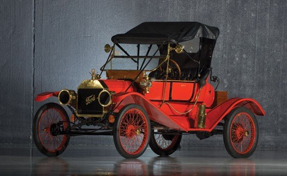 220: 1911 Ford Model T Torpedo Runabout