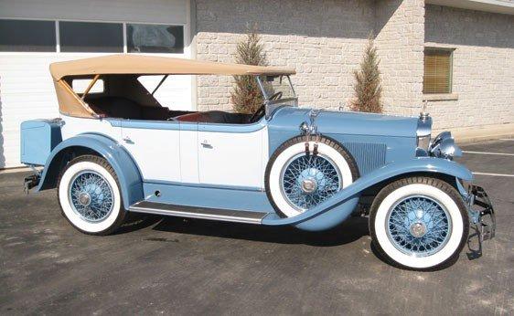 223: 1928 LaSalle Sport Touring