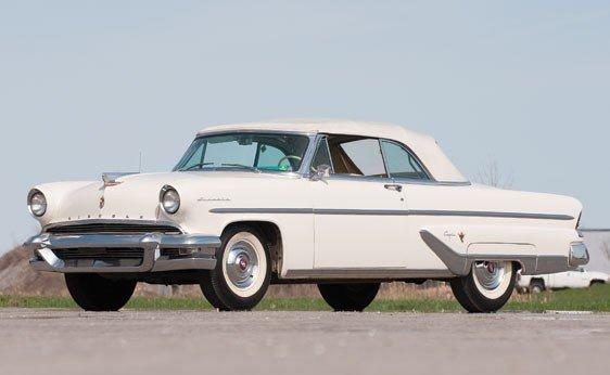 224: 1955 Lincoln Capri Convertible