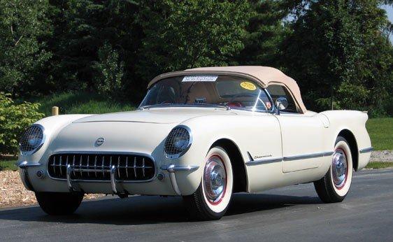 241: 1954 Chevrolet Corvette Roadster