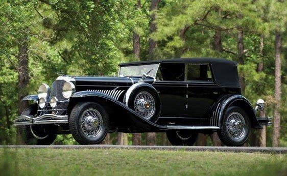 260: 1929 Duesenberg Model J Convertible Sedan