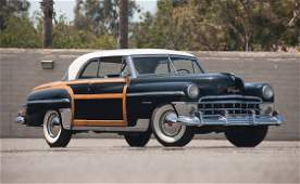 268 1950 Chrysler Town  Country Newport Coupe