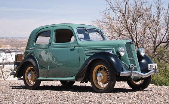 101: 1935 Ford Model CX Saloon