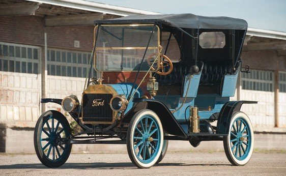 104: 1911 Ford Model T Tourabout